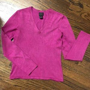 I.N.C silk sweater